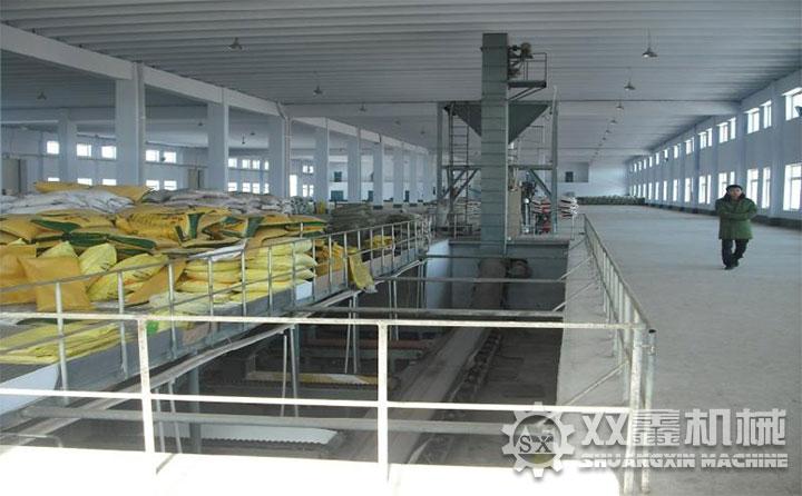 郑州挤压造粒生产线现场